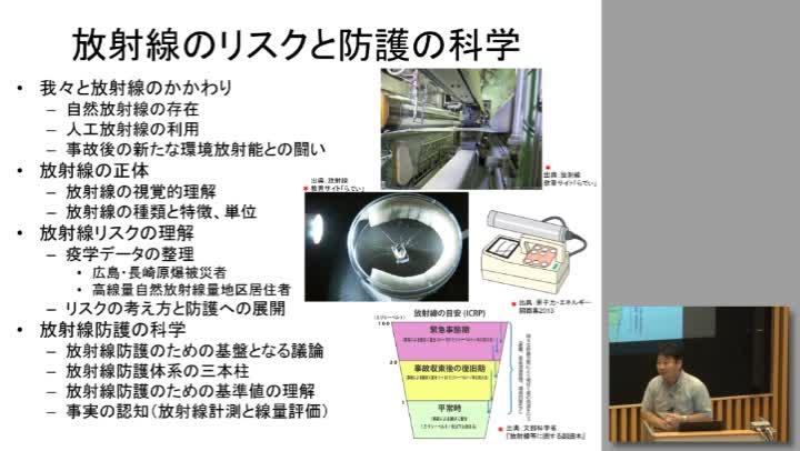 放射線のリスクと防護の科学