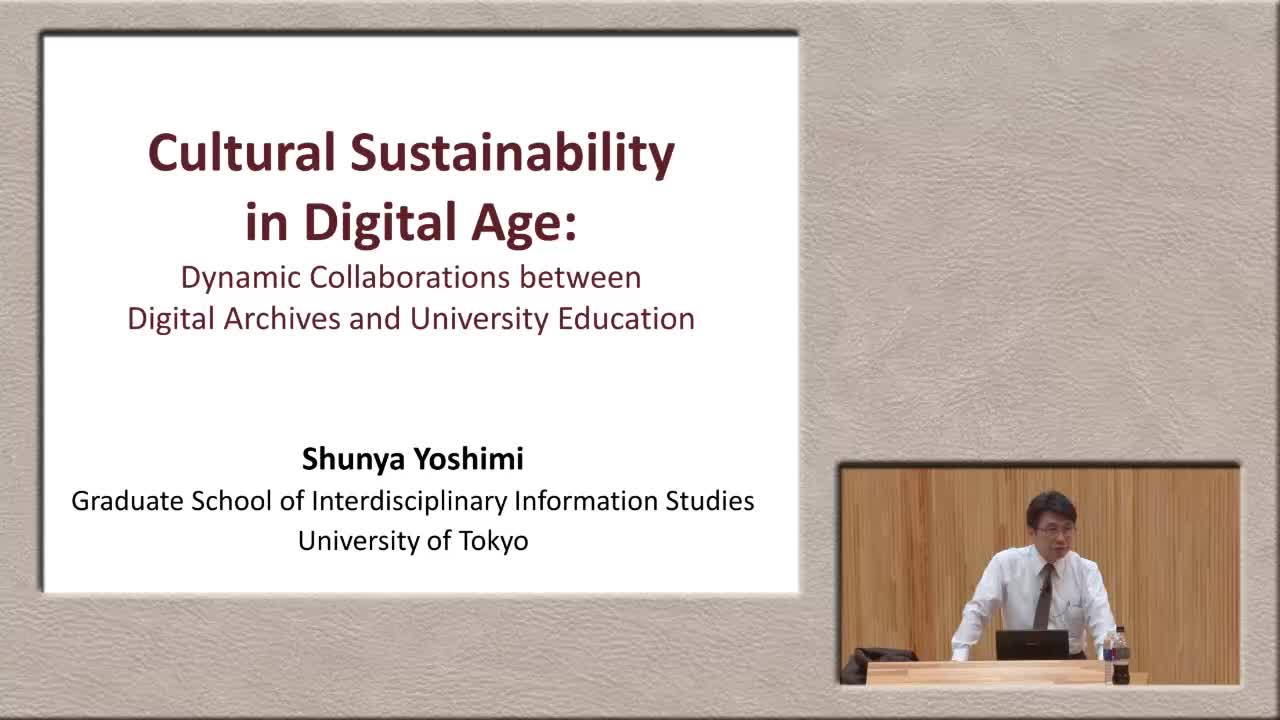Cultural Sustainability in Digital Age