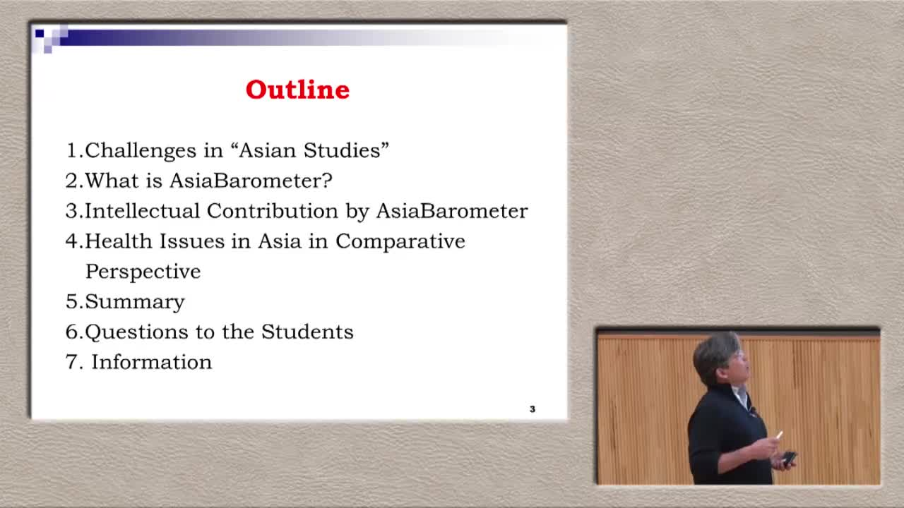 Asia Cancer Barometer: Challenges and Outlook 1