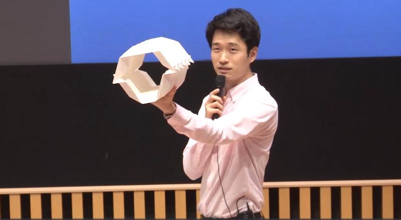 折紙のメカニズム