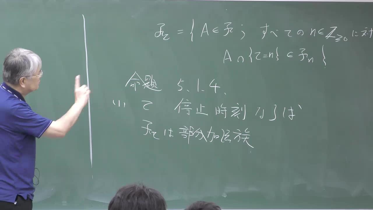 数理手法IV - 7 マルチンゲールの理論③