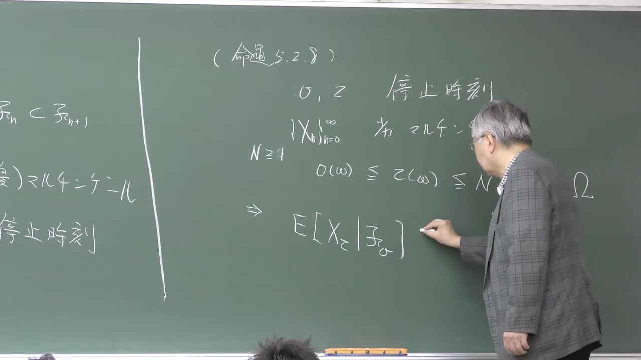 数理手法IV - 8 マルチンゲールの理論④・測度論からの準備①