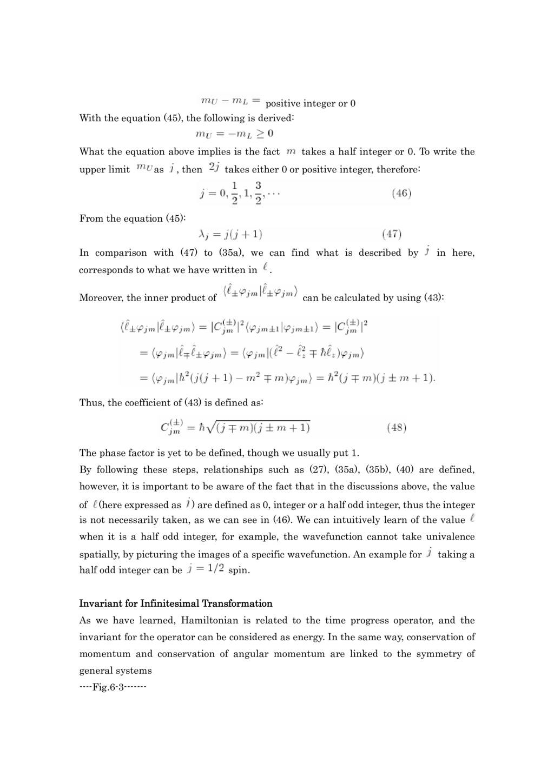 2-3 回転不変性と軌道角運動量
