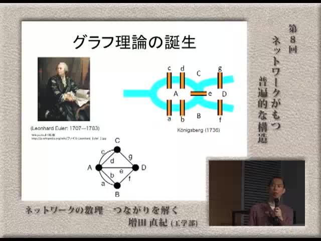 ネットワークがもつ普遍的な構造