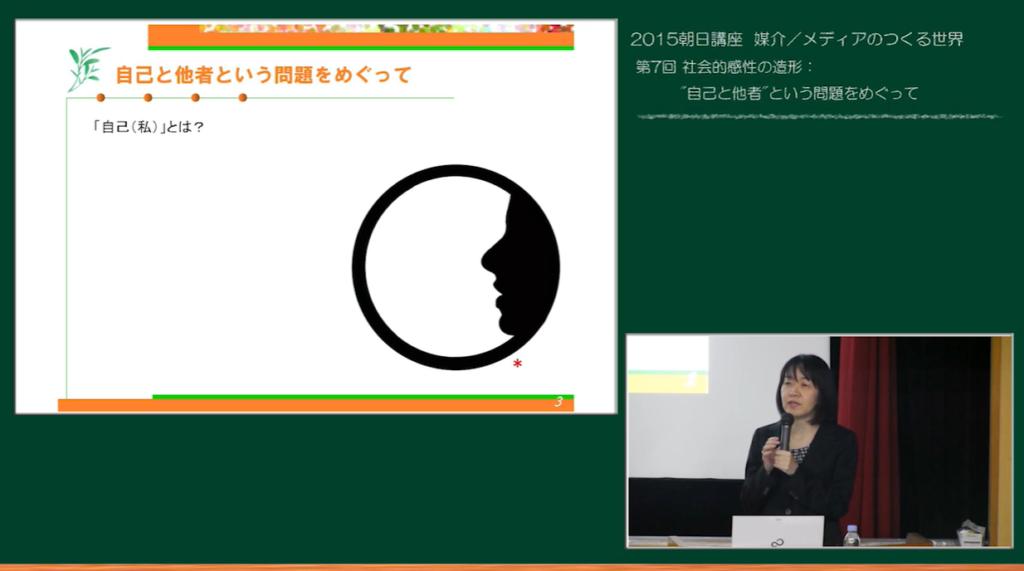 UTokyoOCW 2015年度朝日講座村本由紀子先生
